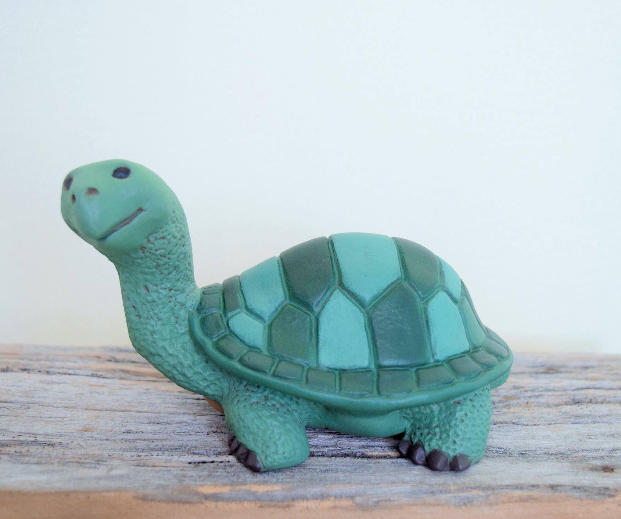 Ceramic Turtle Tortoise Painted Turtle Cute Turtle For Your Garden Yard Art Turtle Turtle Statue Ou Turtle Painting Ceramic Turtle Turtle Figurines