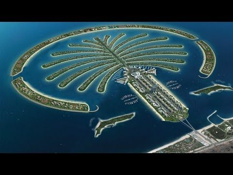 (3) Man-Made Islands, The Palm Islands, Dubai - YouTube | Church stuff | Pinterest | Palm island ...