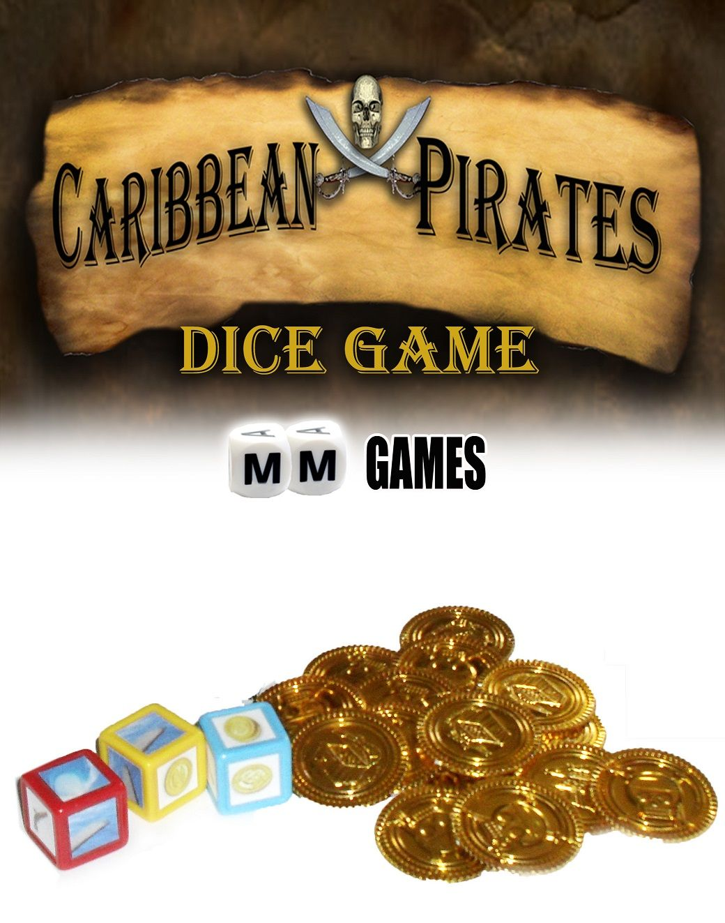 Caribbean Pirates Dice Game Pirates of the caribbean
