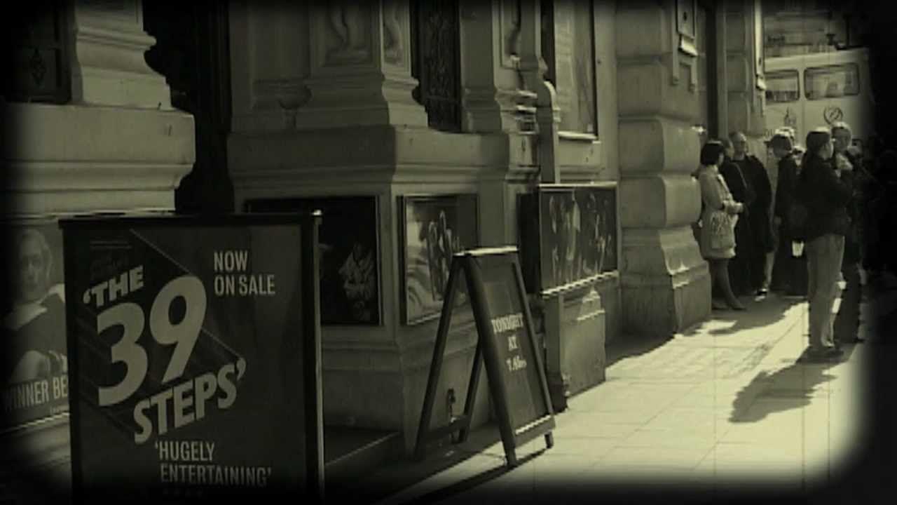 The 39 Steps Cinema Ad
