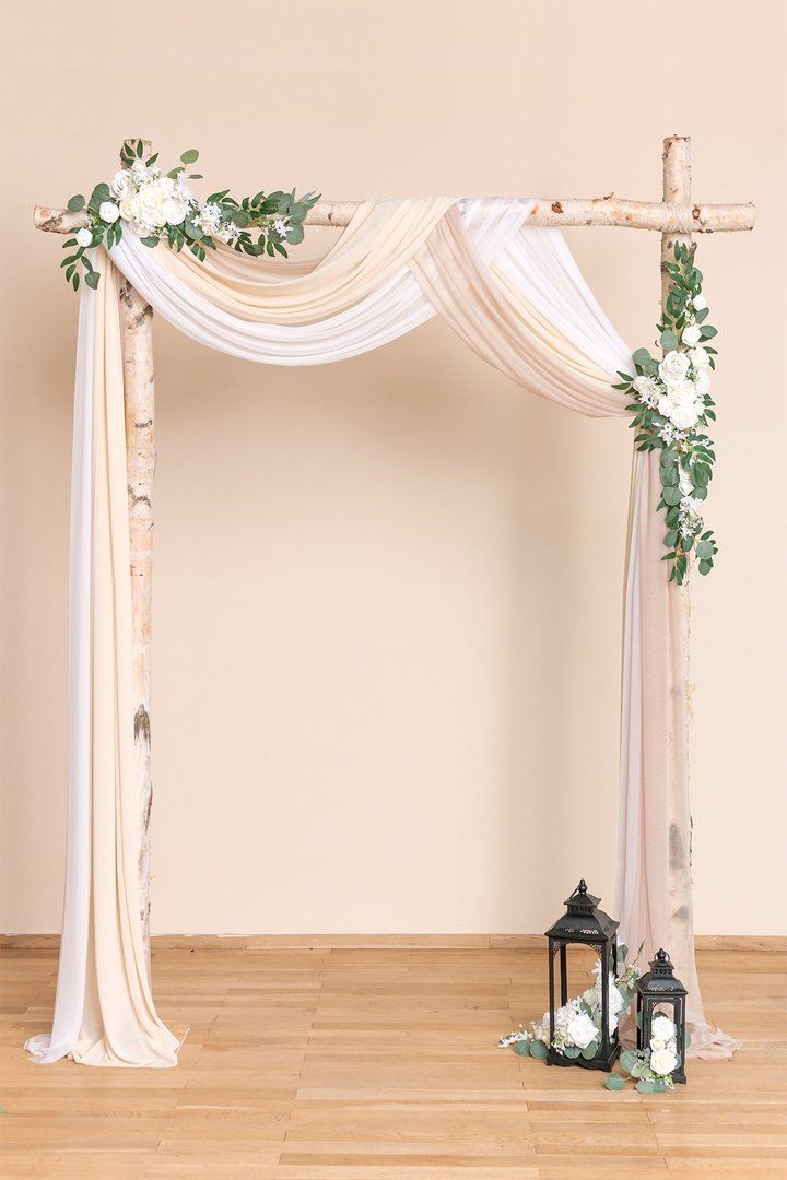 Wedding Arch Drapping 30