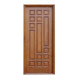 Teak wood doors main door designs pinterest wood for Single main door designs