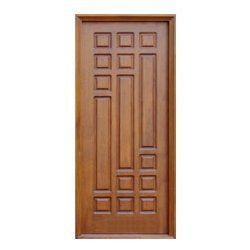 Teak wood doors main door designs pinterest wood for Main door designs single door