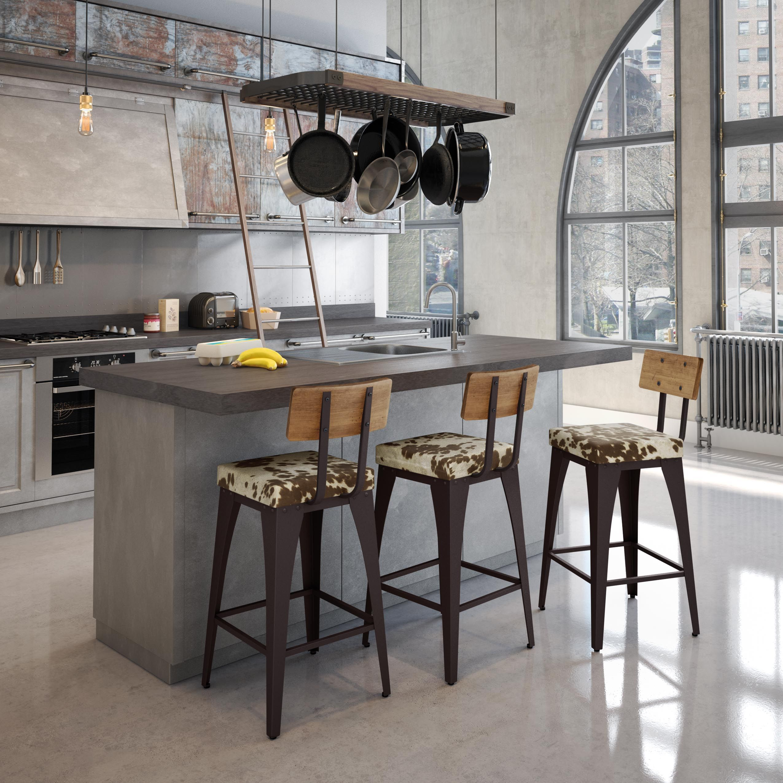 AMISCO - Upright Stool - Furniture - Kitchen - Industrial collection - Contemporary - Non swivel stool & Inspired by factories from the industrial era influenced by a ... islam-shia.org