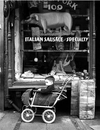 Martin Elkort     Lower East Side, New York City     1951