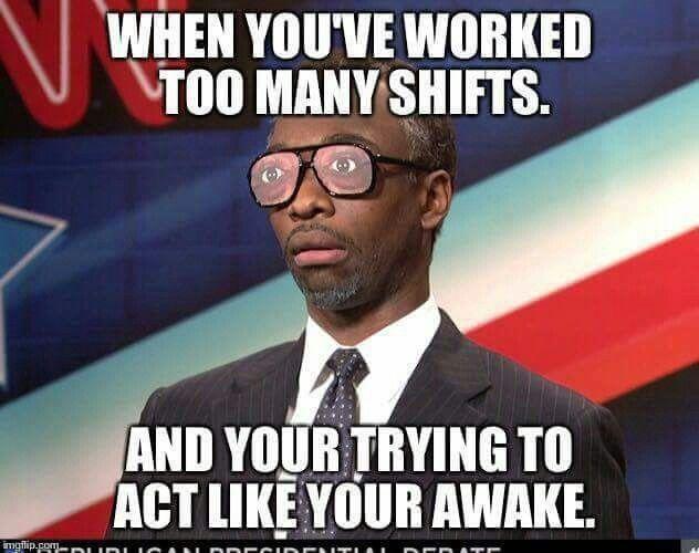 Work has me like...   Nurse humor, Hospital humor ...