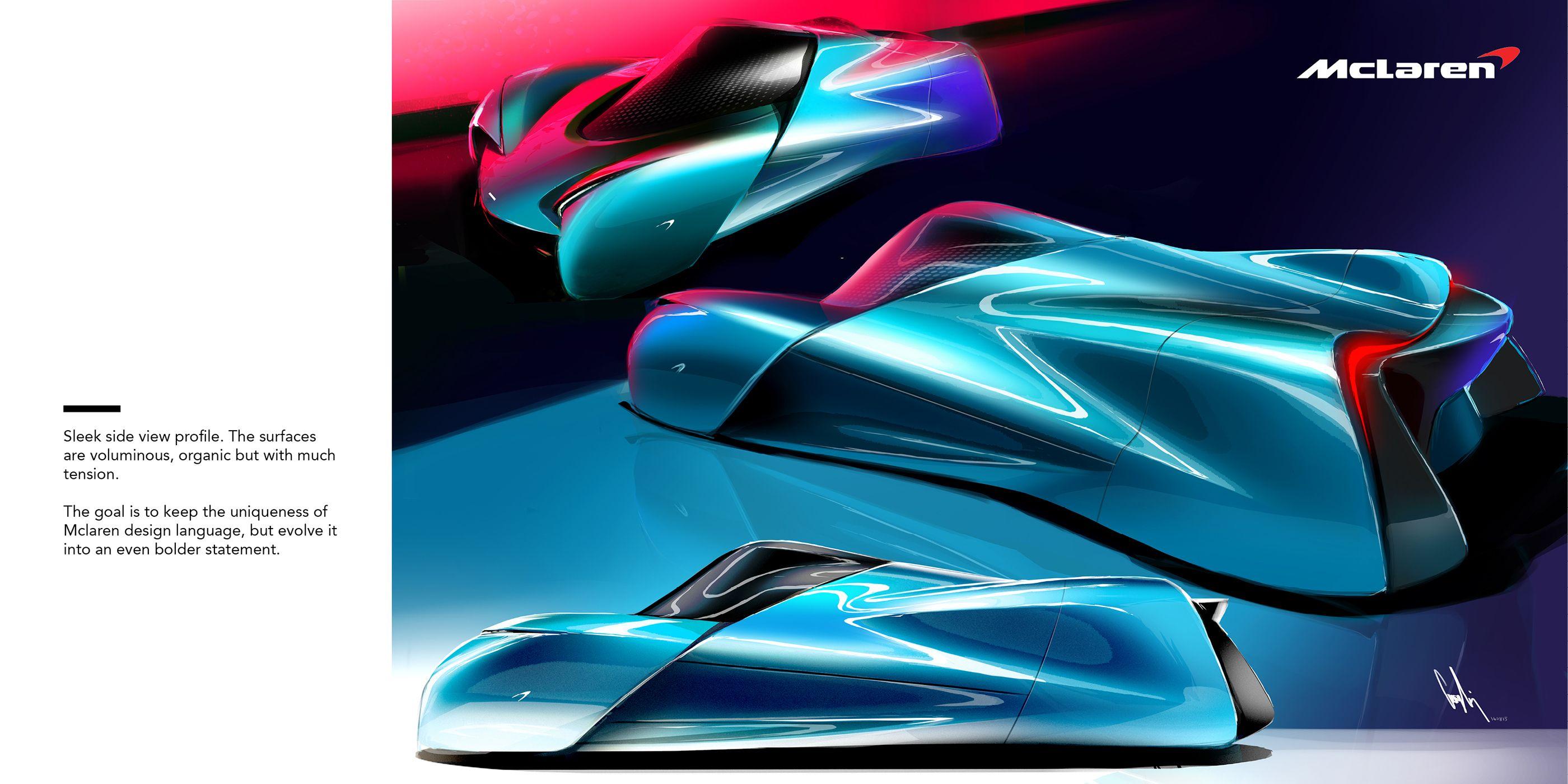 2035 McLaren W1 on Behance Mclaren, Cool cars, Super cars