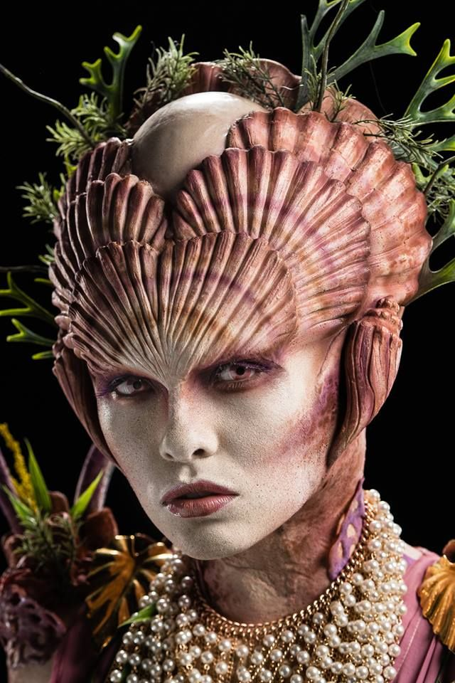 Creation by Dina Cimarusti #FaceOff #makeup #SFX