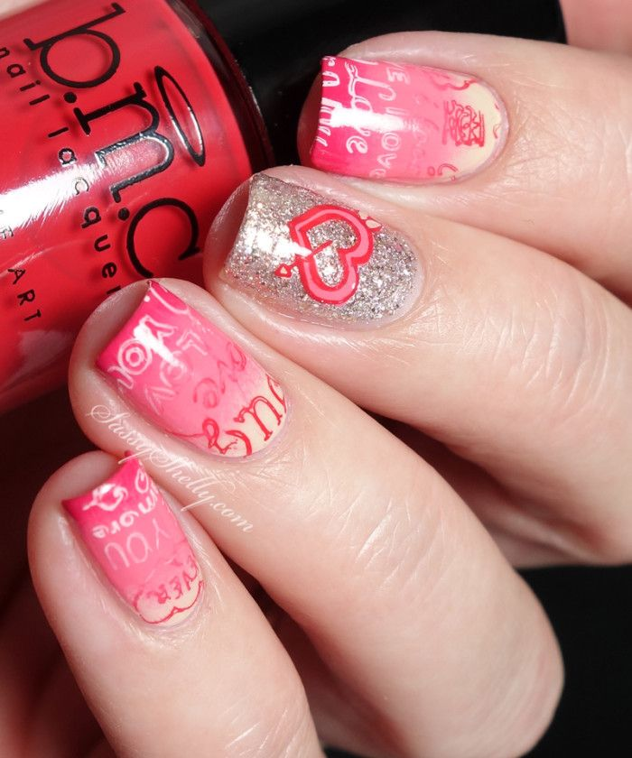 Valentine's Day Nails with OPI and the Bundle Monster Mochi Stamper + a Video TUTORIAL | Sassy Shelly    #nails #nailart #valentines