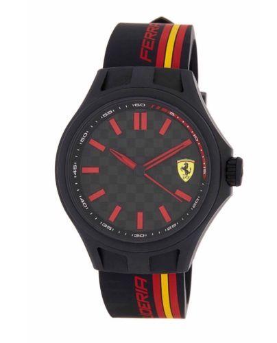 #Ferraridesign - NIB Scuderia Ferrari Men's TR90 Black Dial Watch https://t.co/hj9j6LaClT https://t.co/sHTpN5FnbI