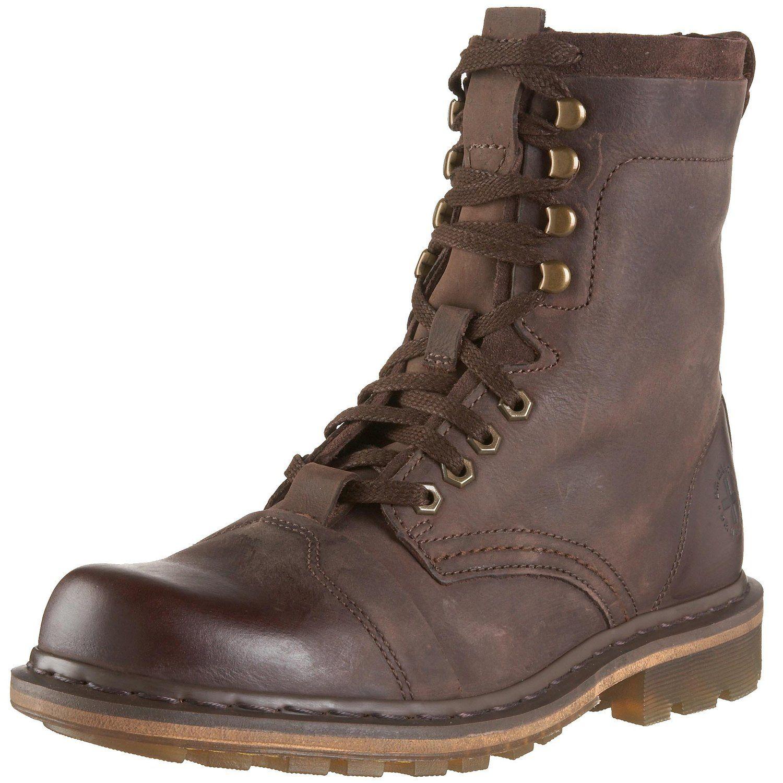 Dr. Martens Men's Pier Boot,Dark Brown,11 UK (US Men's 12 M