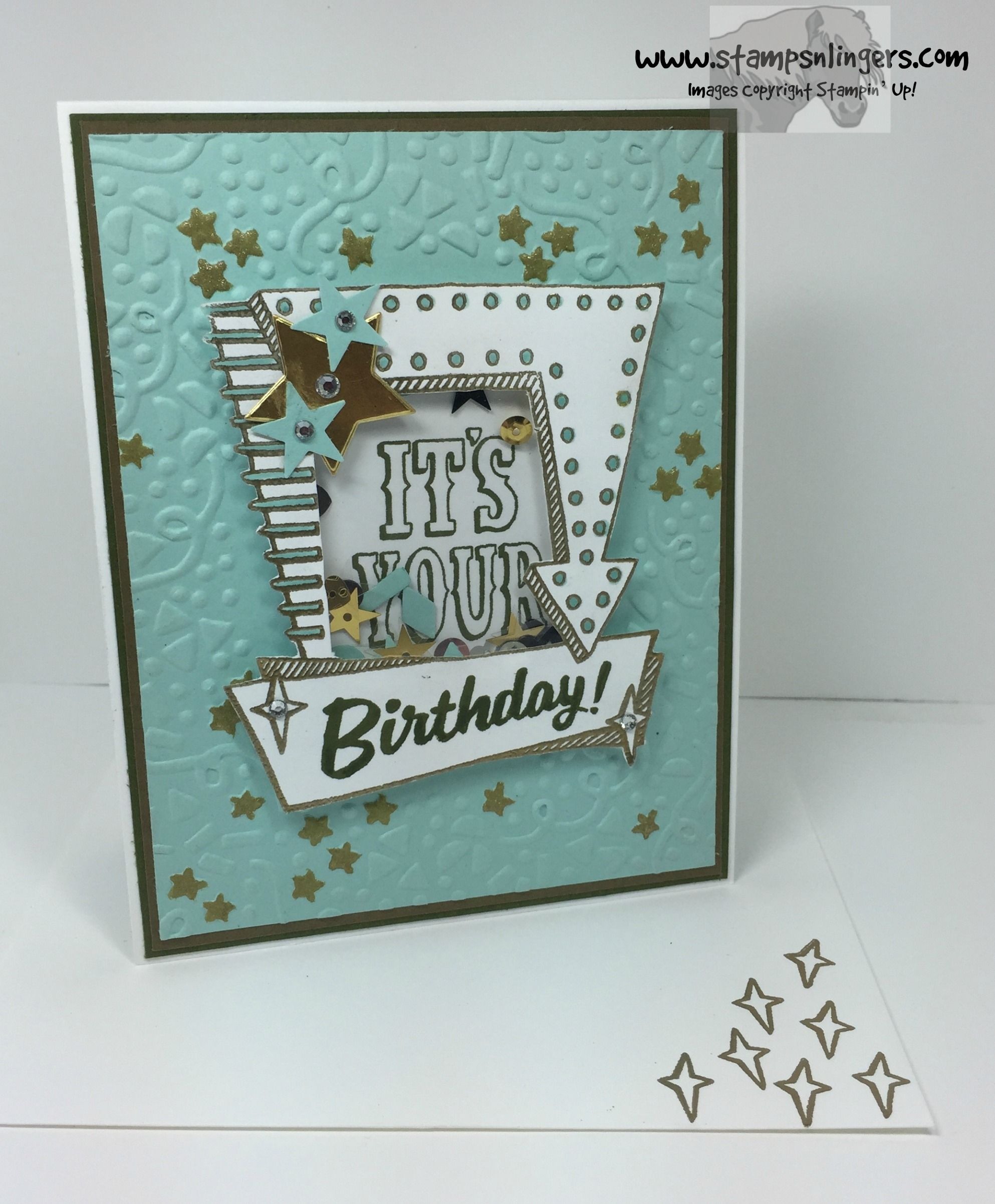 Marquee Messages Shaker Birthday 7 - Stamps-N-Lingers