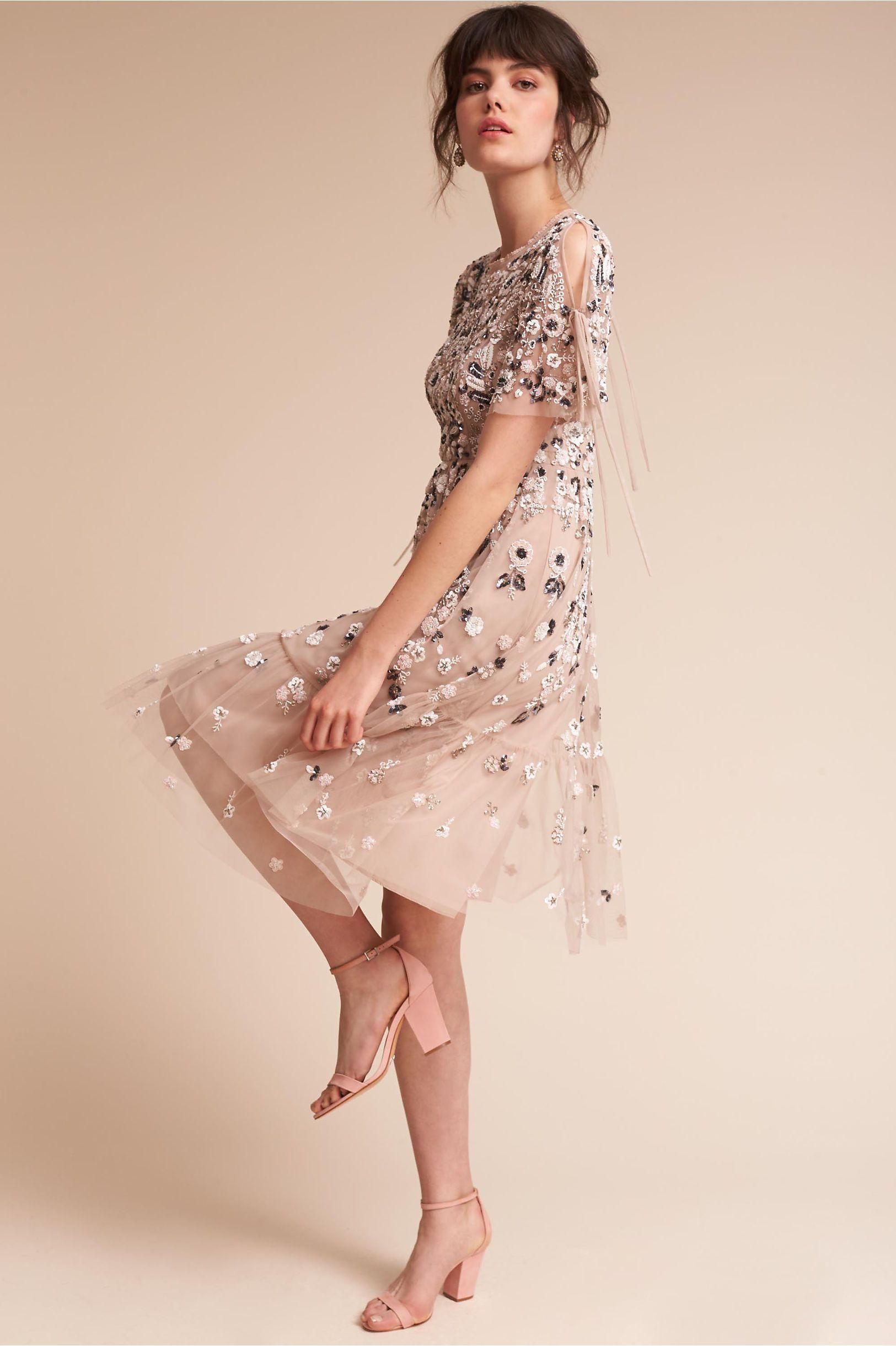 e3d8cee8e4a BHLDN s Needle   Thread Bobbi Dress in Champagne