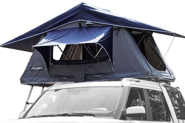 Freespirit Recreation Original Series Small Rootop Tent 1 2 Person Rtos48 In 2020 Tent Roof Top Tent Roof Rails