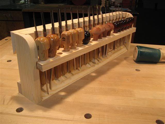 wood carver tool box