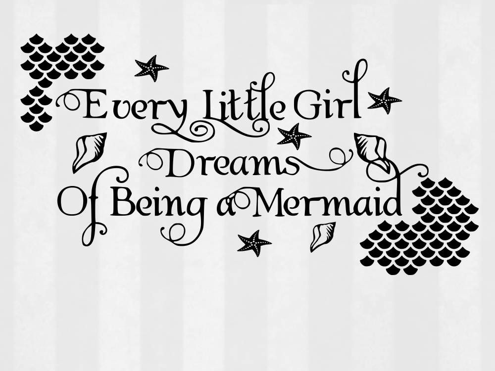 Mermaid Dream SVG Bundle Clipart Cut Files Svg For Silhouette