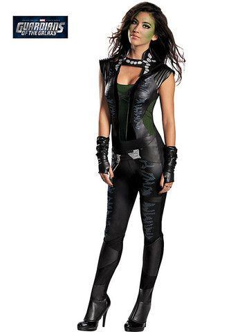 Adult Gamora Deluxe Adult Sexy Costume – Ricky's Halloween ...
