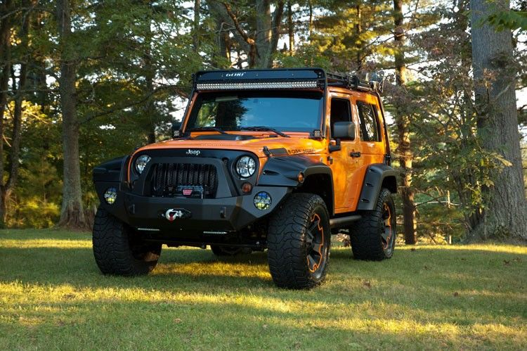 2013 Orange Jeep Wrangler Sport Orange jeep wrangler