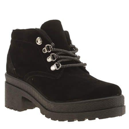 Womens Brown Brown Boots Schuh Hitch Hike Sheepskin