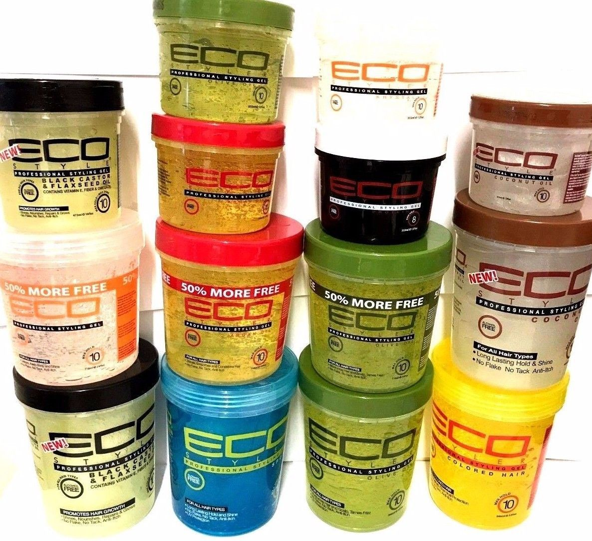 Eco Styler Styling Gels Various Styling Gel Eco Styler Gel Eco Hair