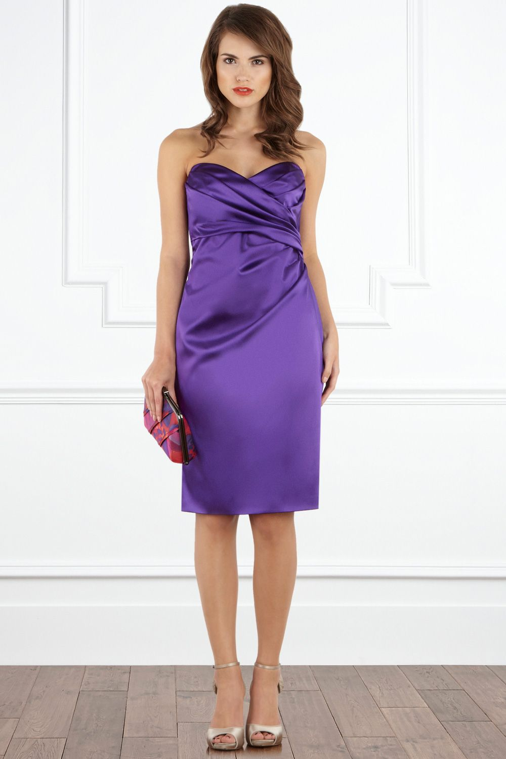 Noemi Bandeau Dress £145 A sharp cocktail style... | Cute Styles ...