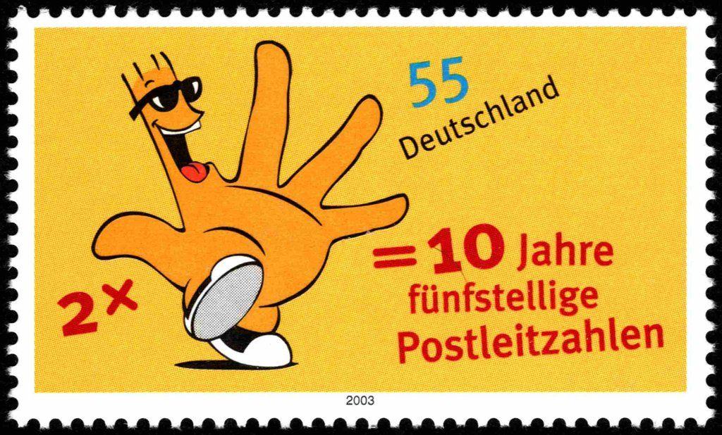Maskottchen Postleitzahlen