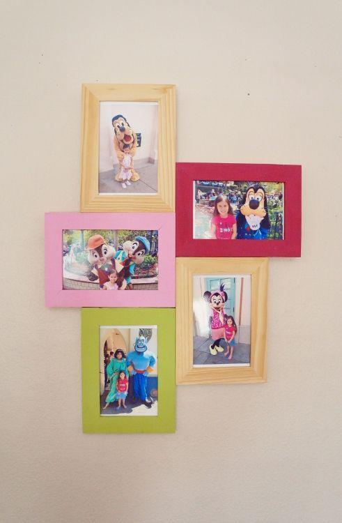 easy diy photo collage frame tutorial on myprintly - Diy Collage Frame