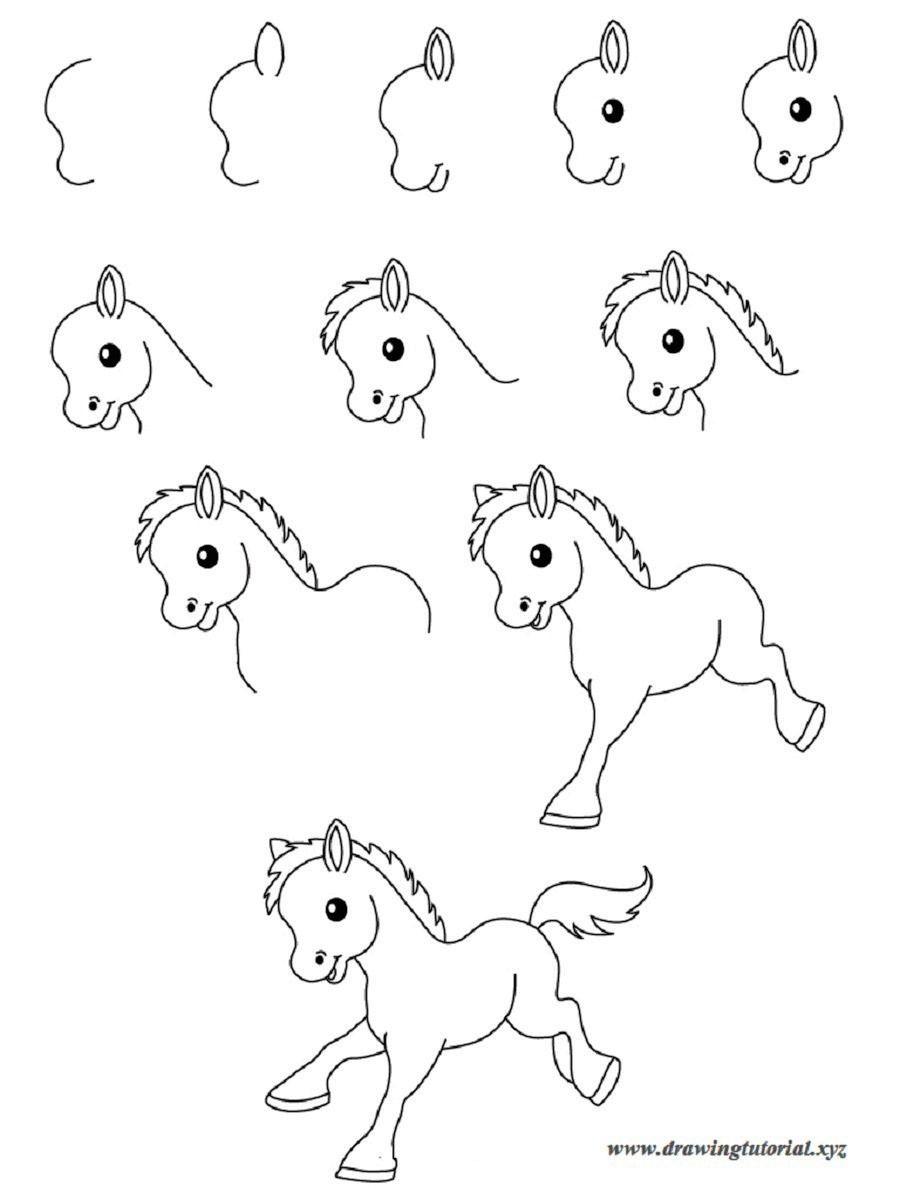 Uncategorized Easy Drawings Step By Step Animals easy drawings step by animals best wallpaper drawing wallpaper