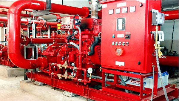 Diesel Engine Fire Pump Controllers - Aline Pumps is a Leading Diesel Engine fire pump controller manufacturer & supplier in Australia.