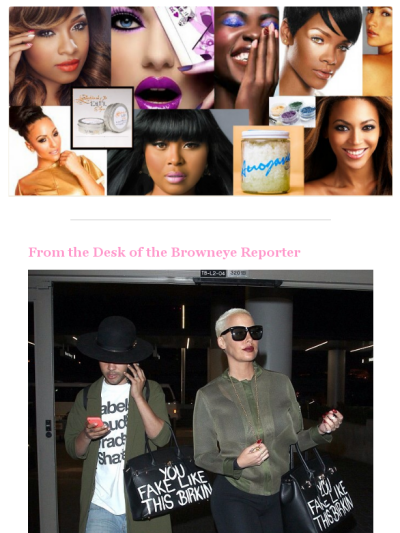 Meet the Designer Sonique Saturday who Designed the Infamous Amber Rose s  Bag. Check out this Mad Mimi newsletter e353bae81f00a