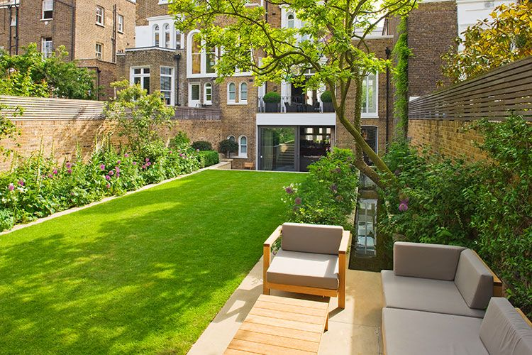 The List - House and Garden   Small city garden ...