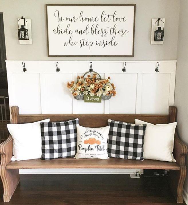 19 Best Black and White Buffalo Plaid Home Decor Ideas | Of Life + Lisa