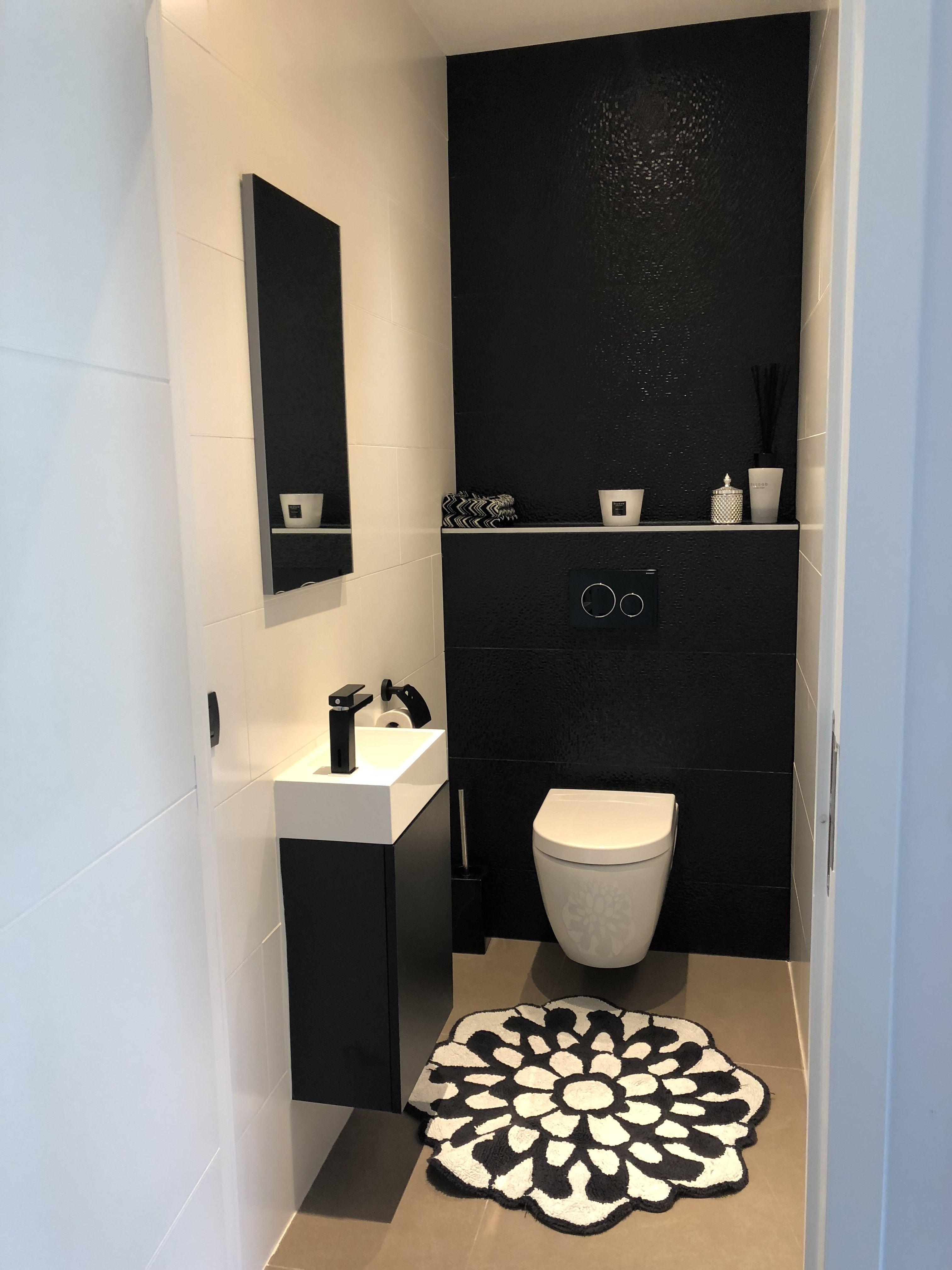 Idee Deco Wc Noir toilet | décoration toilettes, idée toilettes, déco toilettes