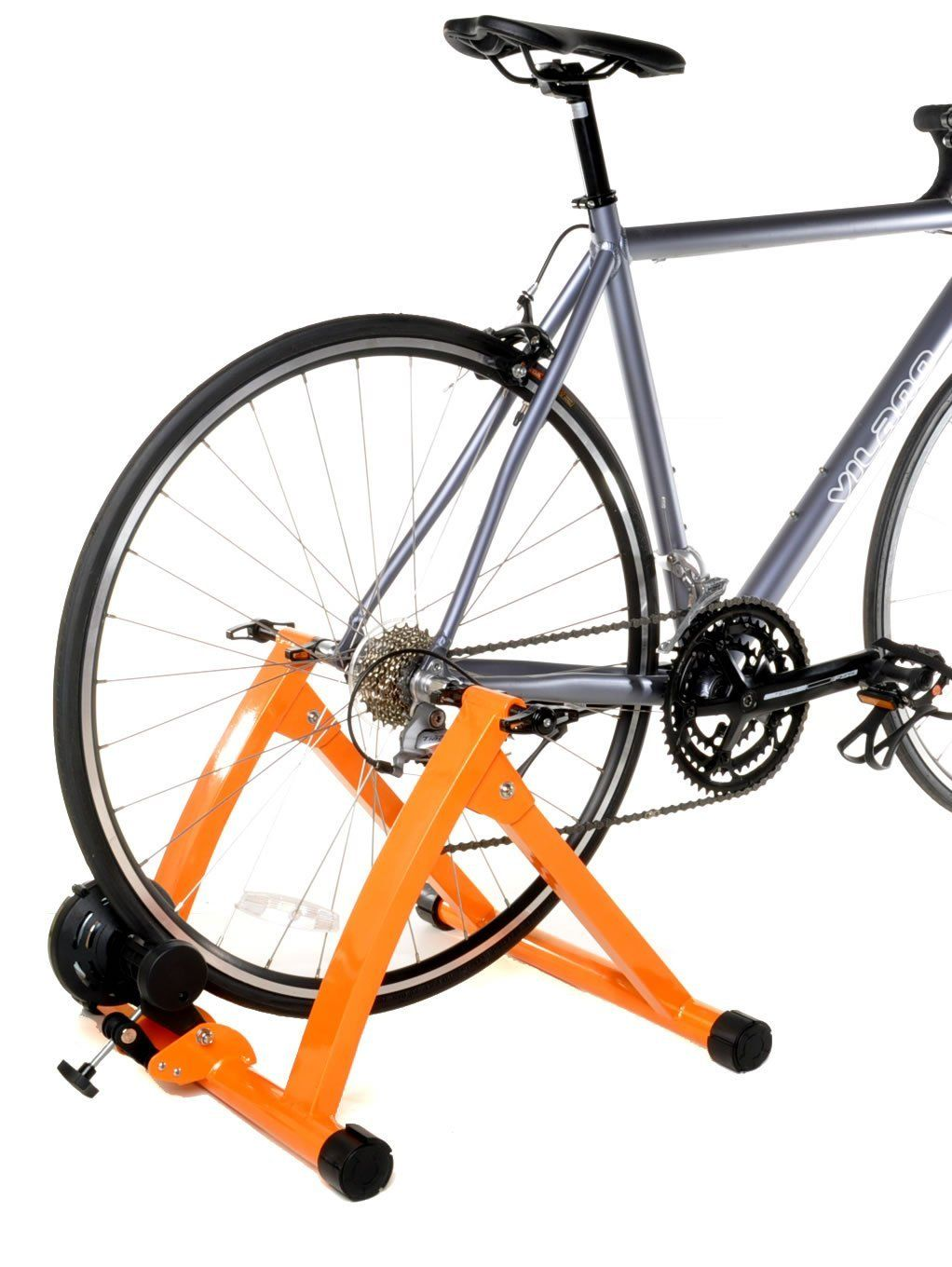 Portable Indoor Bike Trainer Stand Magnetic Resistance Bicycle Riding Exercise