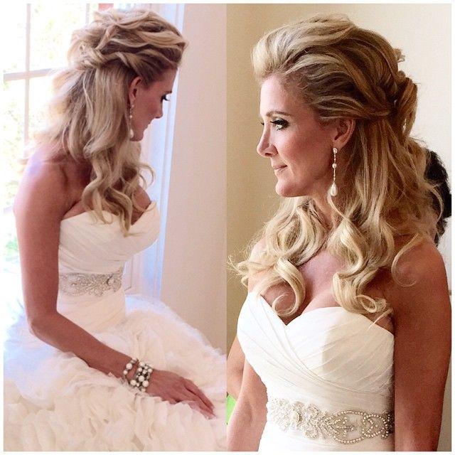 Amazing bridal style from @bobbycoopersalon #bobbycoopersalon