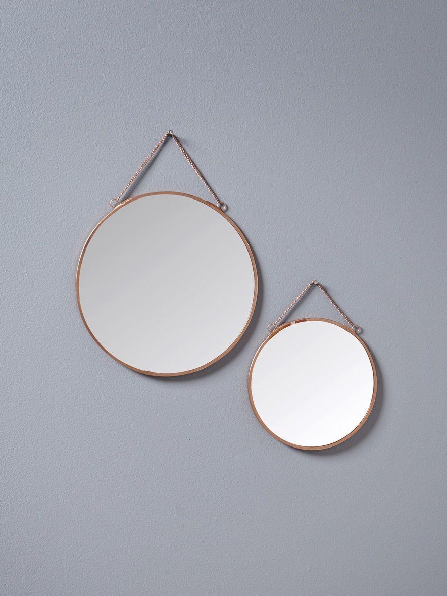 2 edle spiegel die auch als deko objekte dienen sie verleihen dem interieur stil und licht. Black Bedroom Furniture Sets. Home Design Ideas