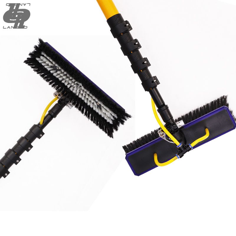 Extenclean Cleaning Equipment 40ft Carbon Fiber Cleaning Brush Extension Telescopic Window