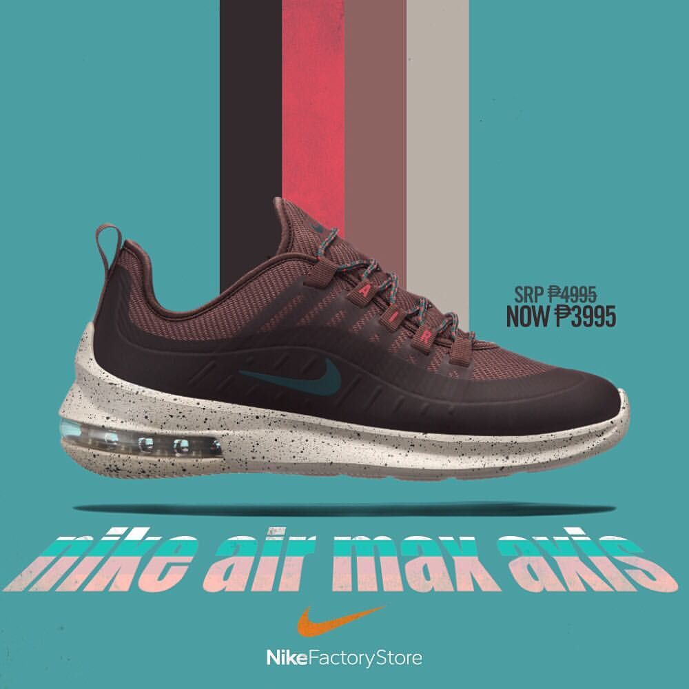 pretty nice 8c6ad f61ba The modern 98. Get that impeccable comfort with the Nike Air Max Axis for  only