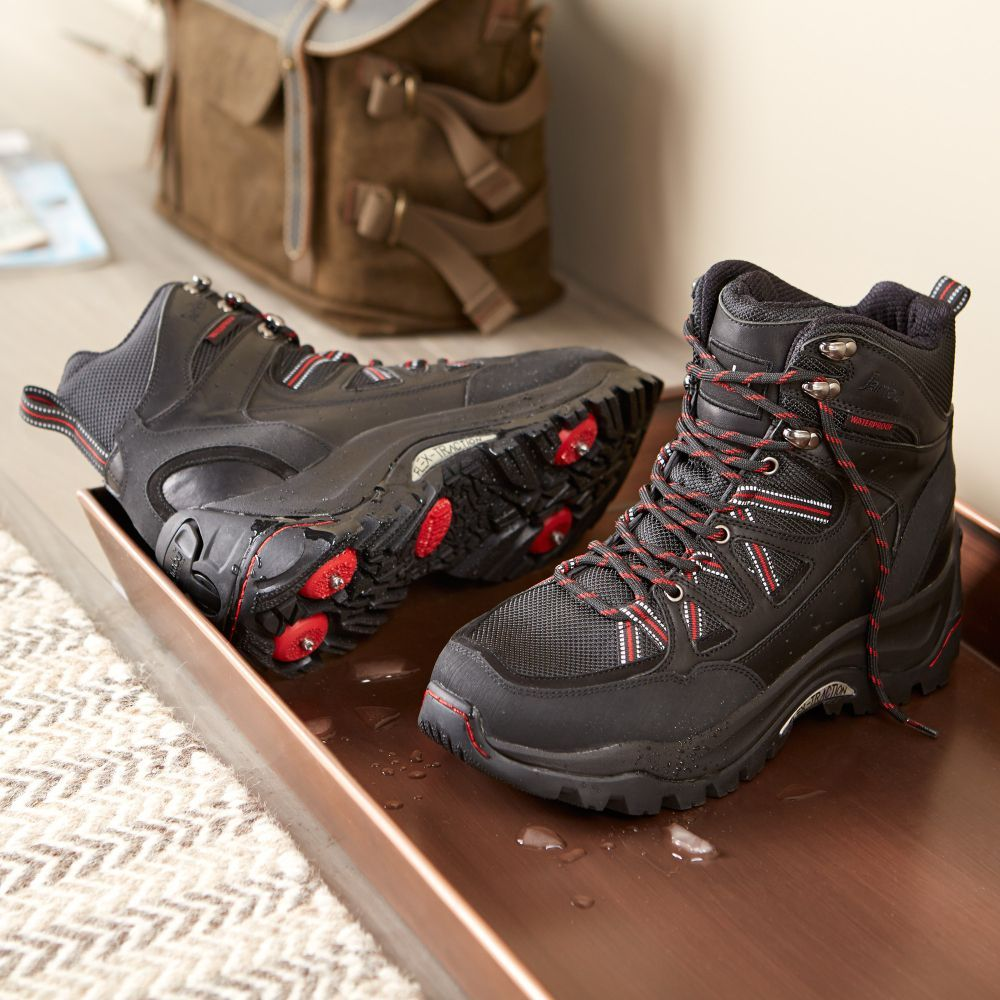 3be74b7068c Men's Retractable-spike Trekking Boots | National Geographic Store ...