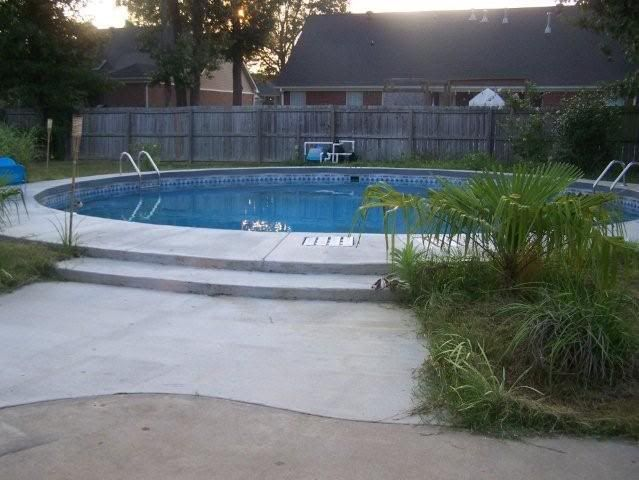 To Bury Or Not To Bury An Above Ground Pool Pool Landscaping Above Ground Pool Above Ground Pool Landscaping