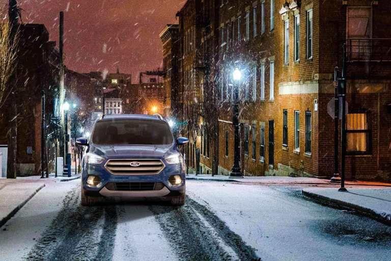 2018 ford escape driving in snow ford escape escape