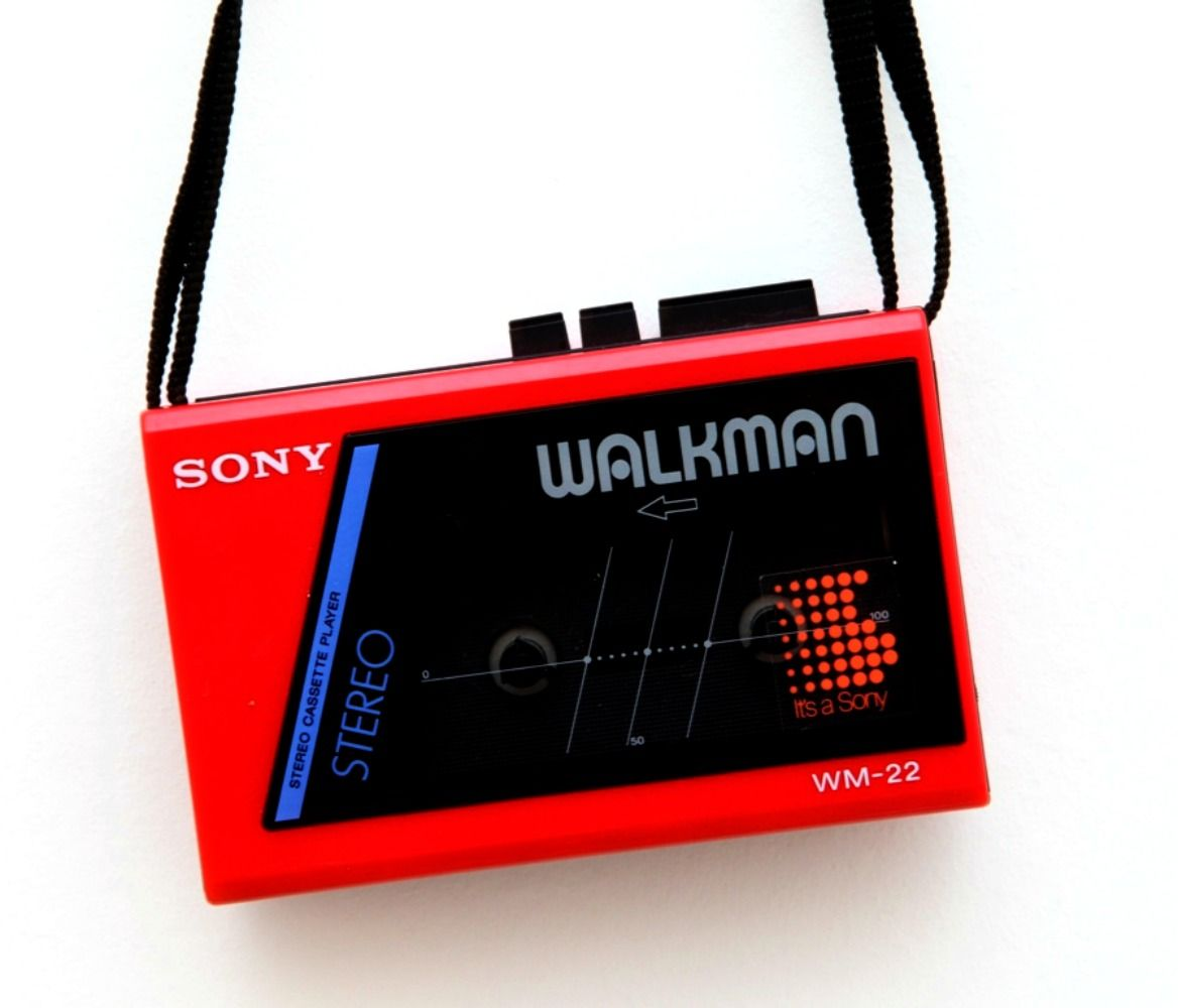 Another example of a Sony Walkman