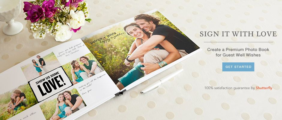 Such A Cute Idea For Guest Book This Company Is Part Of Shutterfly