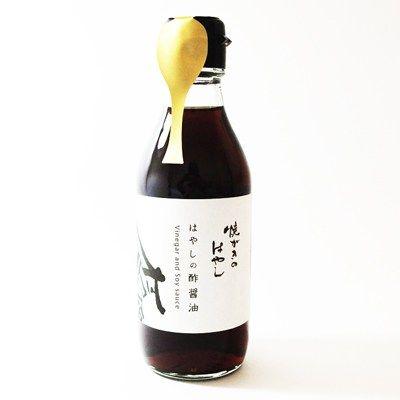 焼がきのはやし 酢醤油のパッケージデザイン #design #package #酢醤油 #ラベル #デザイン
