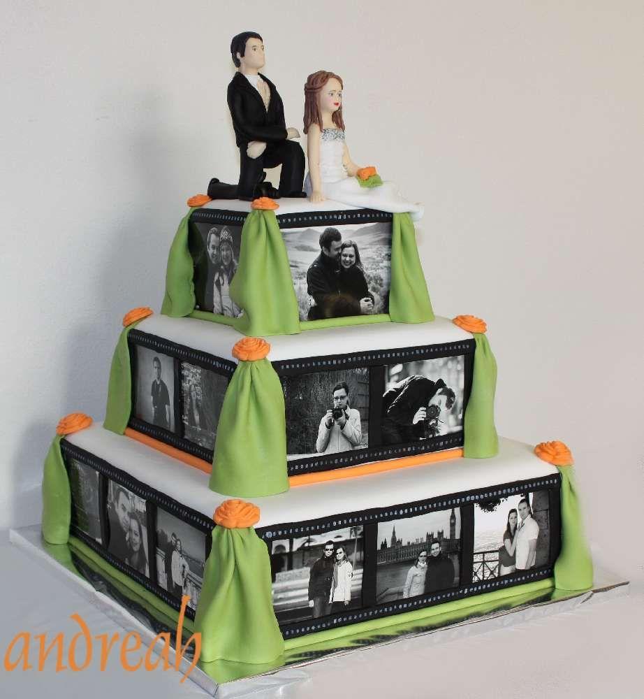 svadobna-torta-s-fotkami.jpg (922×1000)
