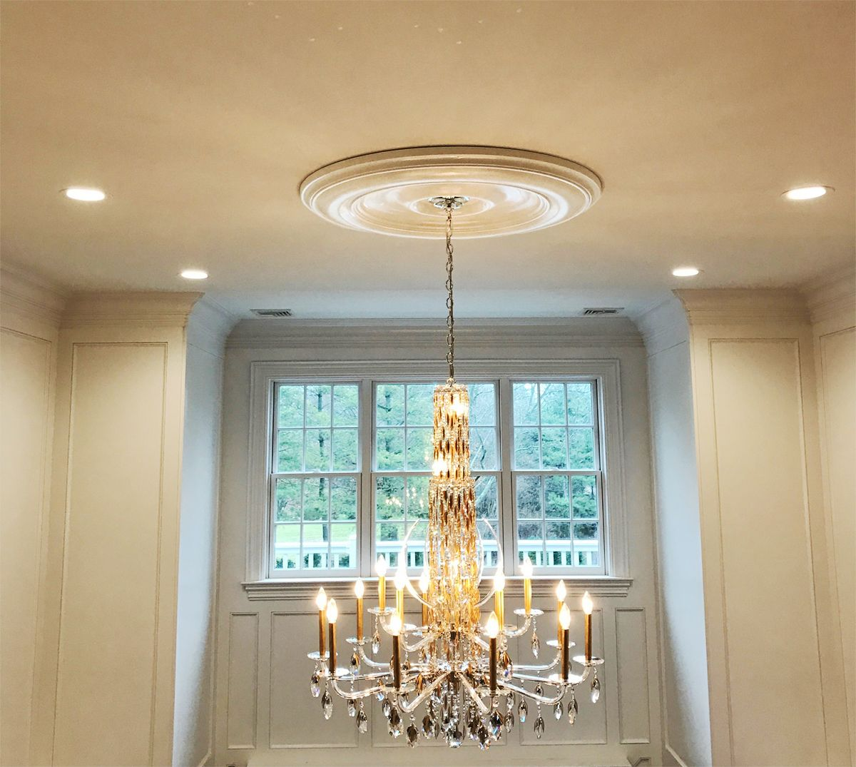 lighting reviews millwork ekena ceiling medallion wayfair attica ca pdp