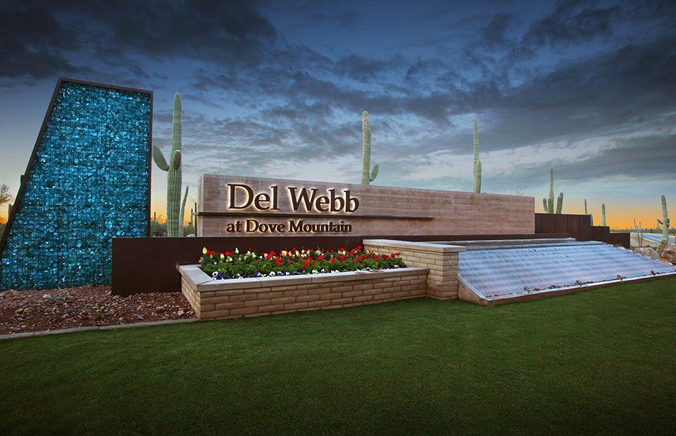 del webb at dove mountain is our community of the week located near