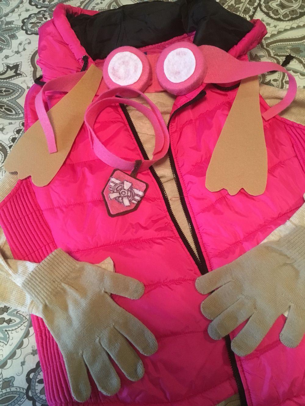 how to make a sky paw patrol costume