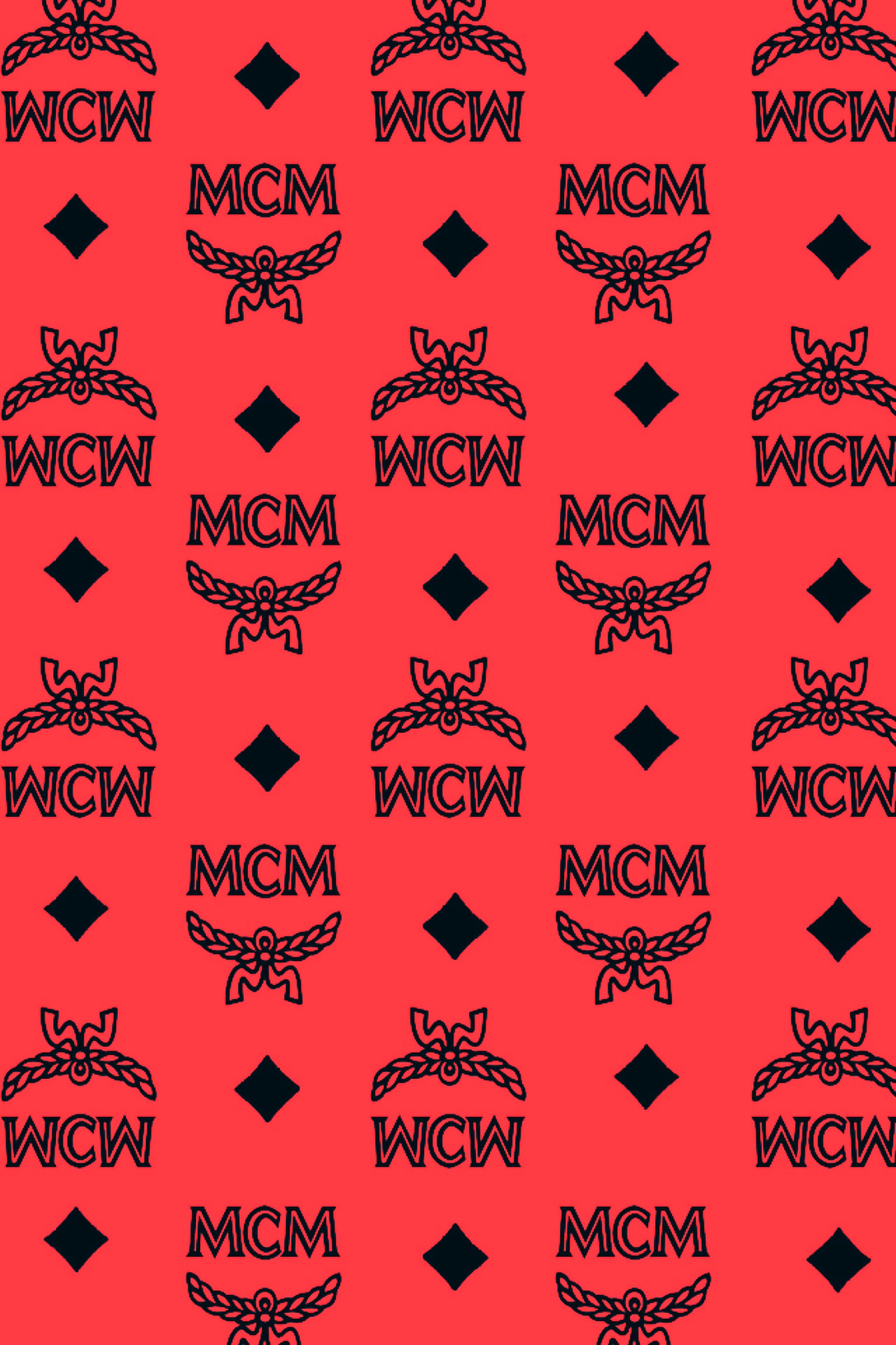 Mcm Wallpaper Bape Wallpapers Mcm Red Wallpaper
