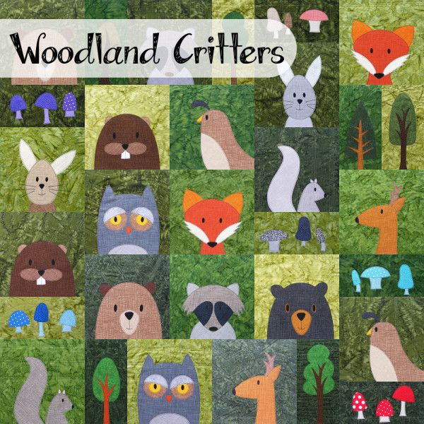 woodland critters cover